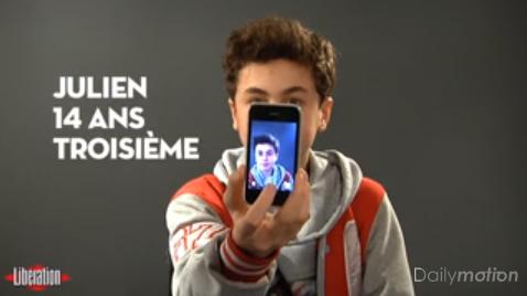 Reportage Libération, Facebook et les ados